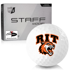 Wilson Staff Staff Model RIT - Rochester Institute of Technology Tigers Golf Balls