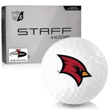 Wilson Staff Staff Model Saginaw Valley State Cardinals Golf Balls