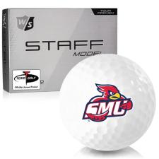 Wilson Staff Staff Model Saint Mary's of Minnesota Cardinals Golf Balls