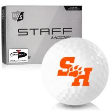 Wilson Staff Staff Model Sam Houston State Bearkats Golf Balls