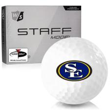 Wilson Staff Staff Model Southeastern Oklahoma State Savage Storm Golf Balls