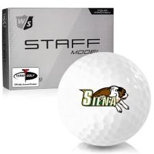 Wilson Staff Staff Model Siena Saints Golf Balls