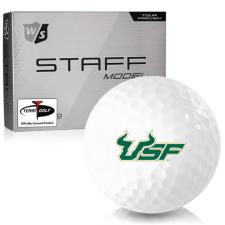 Wilson Staff Staff Model South Florida Bulls Golf Balls