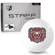 Wilson Staff Staff Model Southwest Missouri State Bears Golf Balls