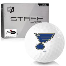 Wilson Staff Staff Model St. Louis Blues Golf Balls