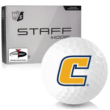 Wilson Staff Staff Model Tennessee Chattanooga Mocs Golf Balls