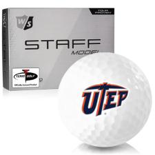 Wilson Staff Staff Model Texas El Paso Miners Golf Balls