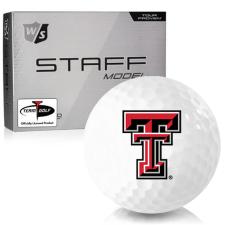 Wilson Staff Staff Model Texas Tech Red Raiders Golf Balls
