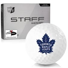 Wilson Staff Staff Model Toronto Maple Leafs Golf Balls