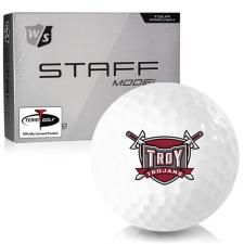 Wilson Staff Staff Model Troy Trojans Golf Balls