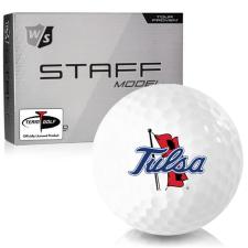 Wilson Staff Staff Model Tulsa Golden Hurricane Golf Balls