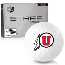 Wilson Staff Staff Model Utah Utes Golf Balls