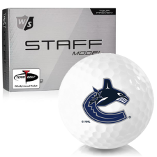 Wilson Staff Staff Model Vancouver Canucks Golf Balls