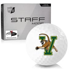 Wilson Staff Staff Model Vermont Catamounts Golf Balls