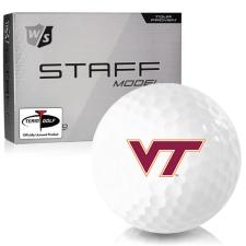 Wilson Staff Staff Model Virginia Tech Hokies Golf Balls
