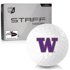 Wilson Staff Staff Model Washington Huskies Golf Balls