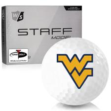 Wilson Staff Staff Model West Virginia Mountaineers Golf Balls