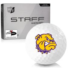 Wilson Staff Staff Model Western Illinois Leathernecks Golf Balls