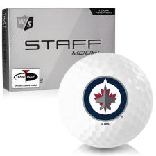 Wilson Staff Staff Model Winnipeg Jets Golf Balls