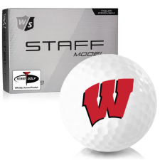 Wilson Staff Staff Model Wisconsin Badgers Golf Balls