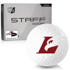 Wilson Staff Staff Model Wisconsin La Crosse Eagles Golf Balls