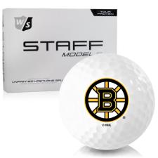 Wilson Staff Staff Model R Boston Bruins Golf Balls