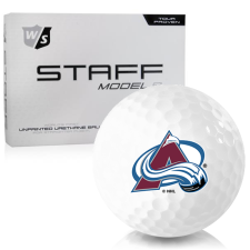 Wilson Staff Staff Model R Colorado Avalanche Golf Balls