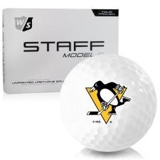 Wilson Staff Staff Model R Pittsburgh Penguins Golf Balls
