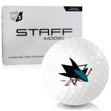 Wilson Staff Staff Model R San Jose Sharks Golf Balls