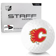Wilson Staff Staff Model R Calgary Flames Golf Balls