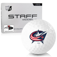 Wilson Staff Staff Model R Columbus Blue Jackets Golf Balls