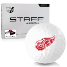 Wilson Staff Staff Model R Detroit Red Wings Golf Balls