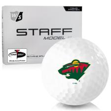 Wilson Staff Staff Model R Minnesota Wild Golf Balls