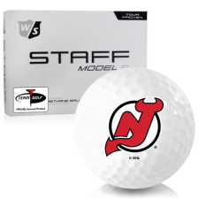 Wilson Staff Staff Model R New Jersey Devils Golf Balls