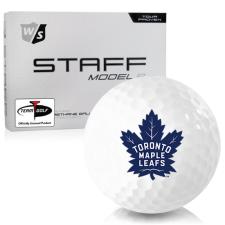 Wilson Staff Staff Model R Toronto Maple Leafs Golf Balls