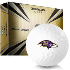 Bridgestone e12 Contact Baltimore Ravens Golf Balls