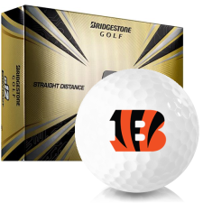 Bridgestone e12 Contact Cincinnati Bengals Golf Balls