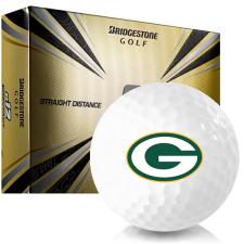 Bridgestone e12 Contact Green Bay Packers Golf Balls
