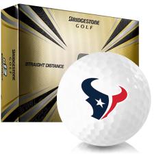 Bridgestone e12 Contact Houston Texans Golf Balls