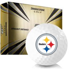 Bridgestone e12 Contact Pittsburgh Steelers Golf Balls