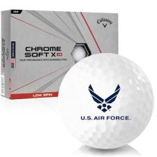 Callaway Golf Chrome Soft X LS US Air Force Golf Balls