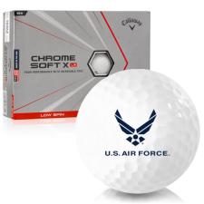 Callaway Golf Chrome Soft X LS Triple Track US Air Force Golf Balls