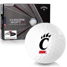 Callaway Golf Chrome Soft X Triple Track Cincinnati Bearcats Golf Balls
