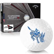 Callaway Golf Chrome Soft X Triple Track Colorado School of Mines Orediggers Golf Balls
