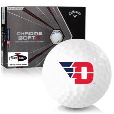 Callaway Golf Chrome Soft X Triple Track Dayton Flyers Golf Balls