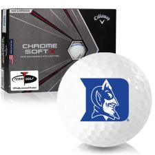 Callaway Golf Chrome Soft X Triple Track Duke Blue Devils Golf Balls
