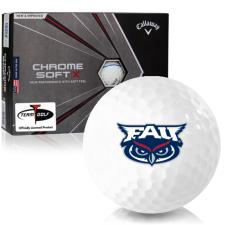 Callaway Golf Chrome Soft X Triple Track Florida Atlantic Owls Golf Balls
