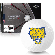 Callaway Golf Chrome Soft X Triple Track Fort Valley State Wildcats Golf Balls