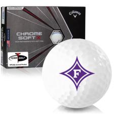 Callaway Golf Chrome Soft X Triple Track Furman Paladins Golf Balls