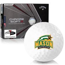 Callaway Golf Chrome Soft X Triple Track George Mason Patriots Golf Balls